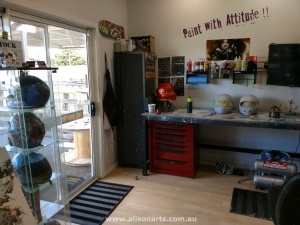 airbrushing and custom paint, newcastle, hunter valley