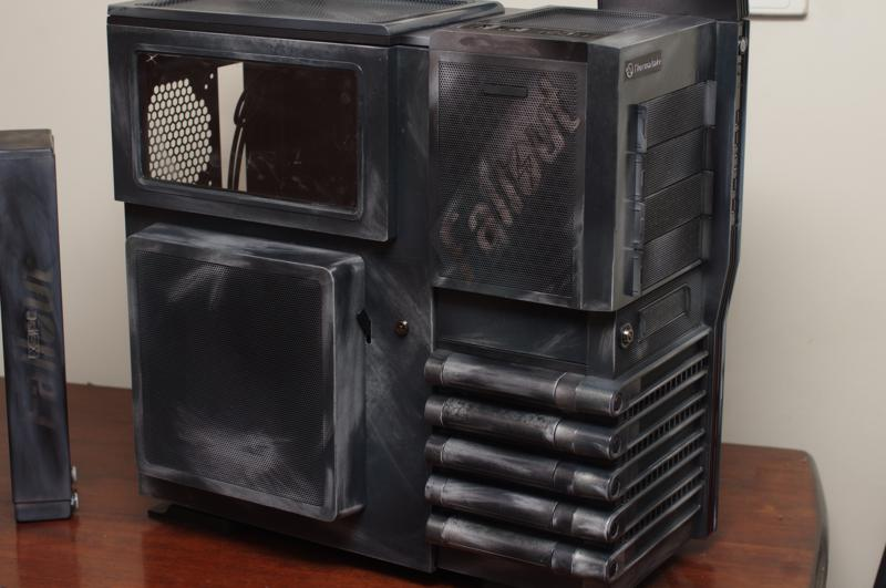 Custom airbrushed PC Case