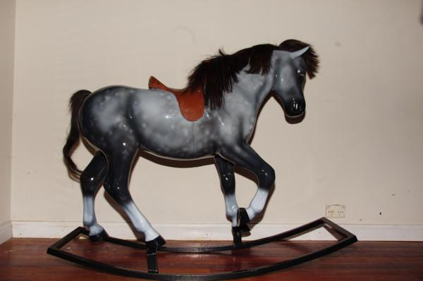 Airbrushed horse