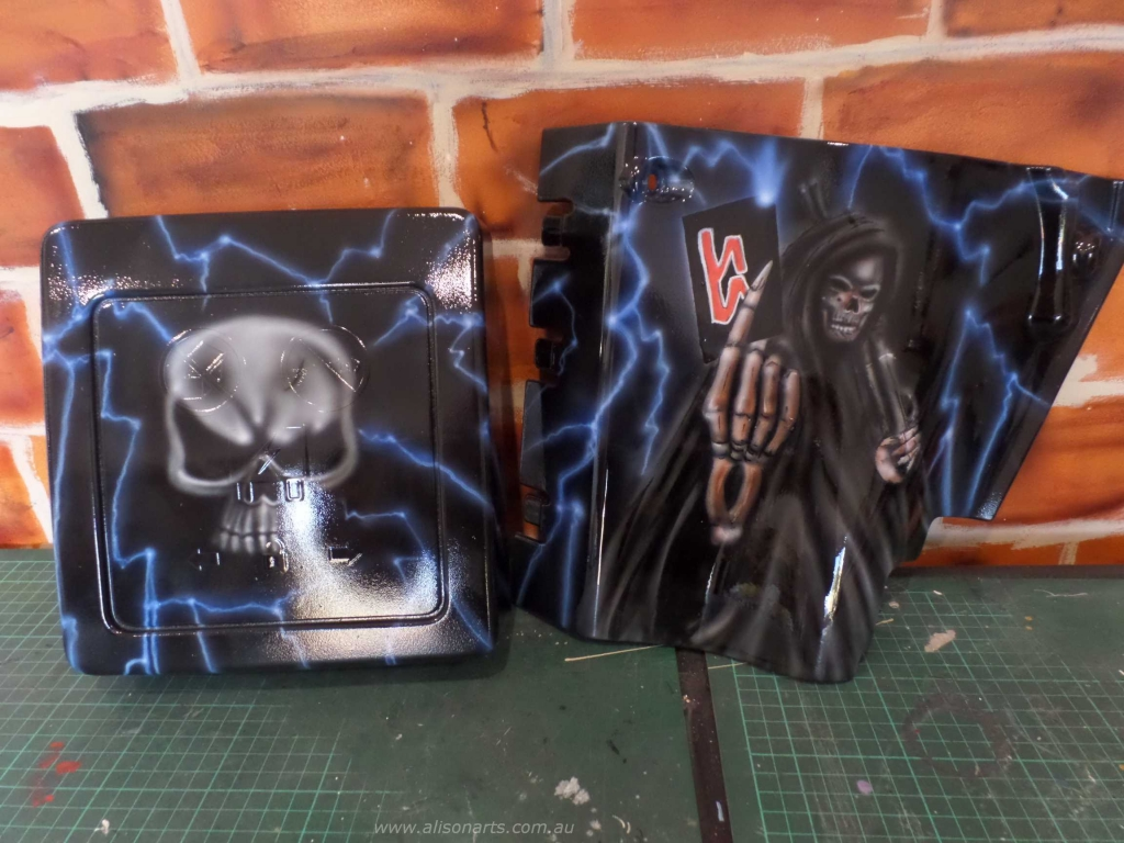 Grim Reaper lightning covers
