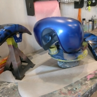 custom paint airbrushing services